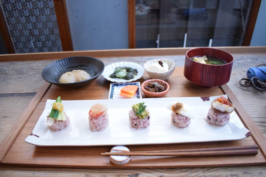 にぎり野菜寿司善